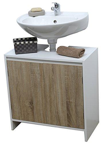 Meuble Dessous de lavabo  - Style scandinave