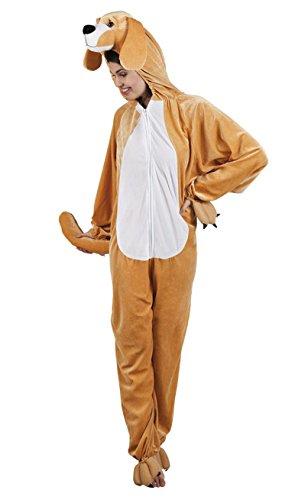 Boland 88050 Erwachsenenkostüm Hund aus Plüsch, (Und Hund Kostüm Mensch Halloween)