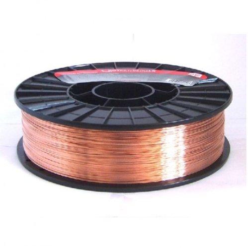 Rothenberger Industrial Verkupferter Stahlschweißdraht,Ø 0,8 mm; 5kg Spule