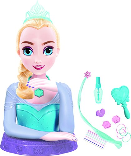 IMC Toys Princess - Disney - La Reine des Neiges - Tête à Coiffer de Luxe Elsa , 16842