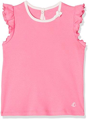 Petit Bateau Baby-Mädchen Tee MC 28824 T-Shirt, Rosa (Petal 59), 86 (Herstellergröße: 18m/81cm) -