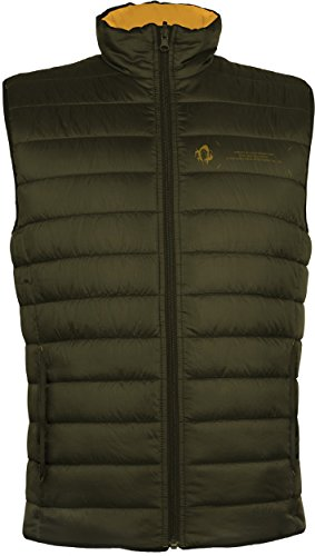 Musterbrand Metal Gear Solid Padded Vest Men Utility Gilet Green