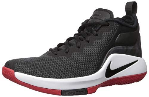 Nike Lebron Witness II, Zapatillas de Deporte para Hombre, (Black/White/Gym 006), 40.5 EU