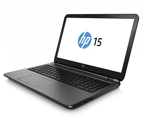 "HP 15-R249NS - Portátil de 15.6"" (Intel Core i3 4005U Dual-Core a 1.7 GHz, 4 GB de SDRAM DDR3L, HDD de 500 GB, Intel HD Graphics 4400, Windows 8.1), plata piedra - Teclado QWERTY Español"