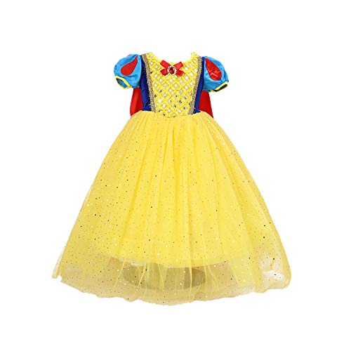 Lee Little Angel Christmas Costume Girls Baby Dress Prinzessin Kinder Performance Kostüm (110, E70)