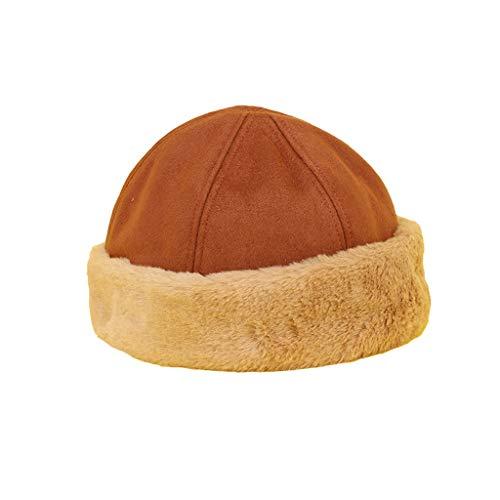Nosterappou Chapeau de propriétaire Occasionnel, Chapeau Chaud d'hiver, Chapeau d'hiver pour Femmes est agréable à Porter, Chapeau de Melon pour Hommes et Femmes d'hiver, Chapeau de Plein air