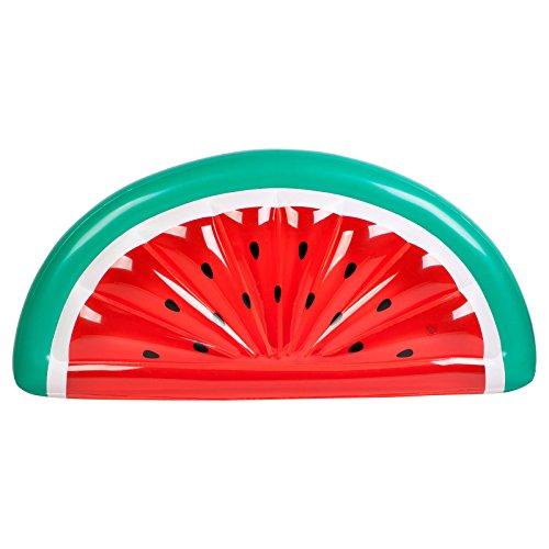 JC großes Wassermelone Auf Float, Sommer Strand Liegen, Pool, aufblasbar rot–von Just Contempo