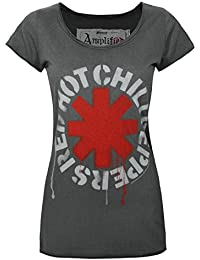 Damen - Amplified Clothing - Red Hot Chili Peppers - T-Shirt