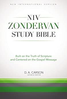 The NIV Zondervan Study Bible, eBook: Built on the Truth of Scripture and Centered on the Gospel Message di [Zondervan]
