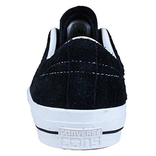 Converse Unisex-Erwachsene Sneakers One Star C153062 Low-Top Black/White/Gum