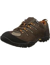 TimberlandVarston Low Fabric and Leather with Goretex Membrane - zapatillas de trekking y senderismo hombre  Marrón marrón oscuro Talla:41 1/2