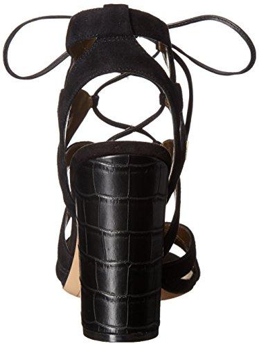Sandalo Sam Edelman Yardley in camoscio nero Black