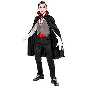 WIDMANN-Vampiro 01685 - Disfraz para niños, multicolor, (116 cm/4 - 5 años)