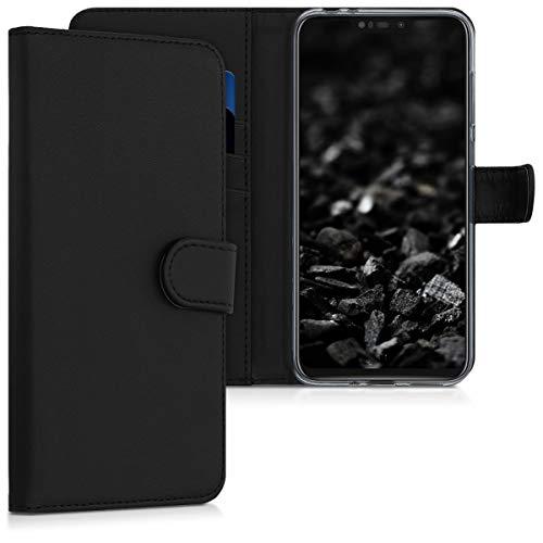 kwmobile Asus Zenfone Max (M2) Hülle - Kunstleder Wallet Case für Asus Zenfone Max (M2) mit Kartenfächern & Stand
