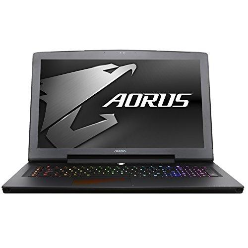 Aorus X7 DT v7-CF1 17.3-Inch LCD Notebook - (Black) (Intel i7-7820HK, 32 GB RAM, 1 TB HDD & 512GB SSD, NVIDIA GeForce GTX 1080, Windows 10)