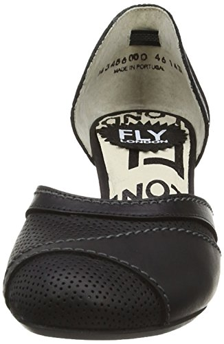 Fly London - Klee, Décolleté Donna Nero (Nero)