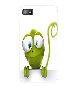 ColourCraft Funny Frog Design Back Case Cover for BLACKBERRY Z10