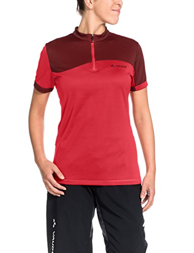 VAUDE Damen T-Shirt Tremal Zip Off II, Flame, 38, 06601