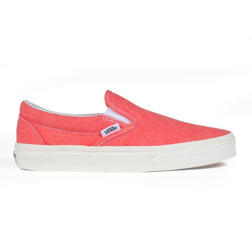 Vans U Classic Slip-On, Baskets Basses Mixte Adulte Rouge