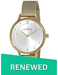 (Renewed) Skagen Anita Analog Silver Dial Womens Watch - SKW2150#CR
