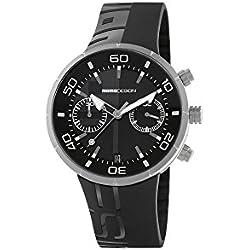 Reloj de Cuarzo Momo Design Jet Black Chrono, Acero Inoxidable 316L,MD2398SS-11