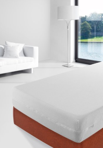 Savel, Funda de colchón Rizo 100% algodón, elástica, ajustable y muy absorbente, 80x190/200cm (para camas de 80)
