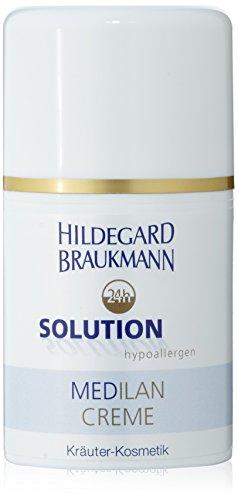 Hildegard Braukmann 24H Solution Hypoallergénique Crème Medilan pour Femme 50 ml