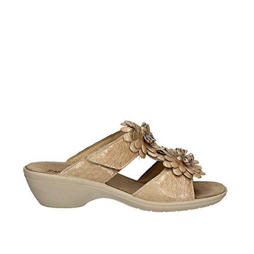 Enval 7971 Sandalo velcro Femmes Beige