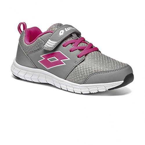 Chaussures Spacerun V Grey/Pink Jr - Lotto Gris
