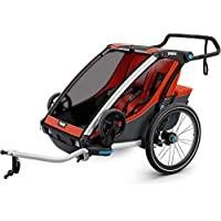0baaa0871c9 Thule Unisex Child Chariot Cross 2 Cycling And Strolling Kit Carrier -  Orange