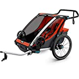 Thule Kids 'Chariot Cross 2 Radfahren und Strolling Kit Carrier, orange
