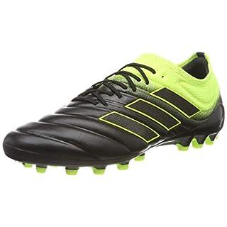 adidas Men's Copa 19.1 Ag Football Boots, Multicolour Amasol/Negbás 000 7 UK