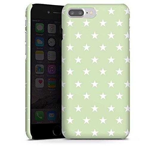 Apple iPhone X Silikon Hülle Case Schutzhülle Sternchen Muster Polka Premium Case glänzend