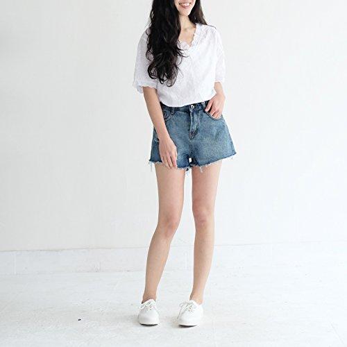 Xuanku Frühjahr Und Sommer - Geld DKNY Jeans Empfohlen,M,Schwarze Jeans -