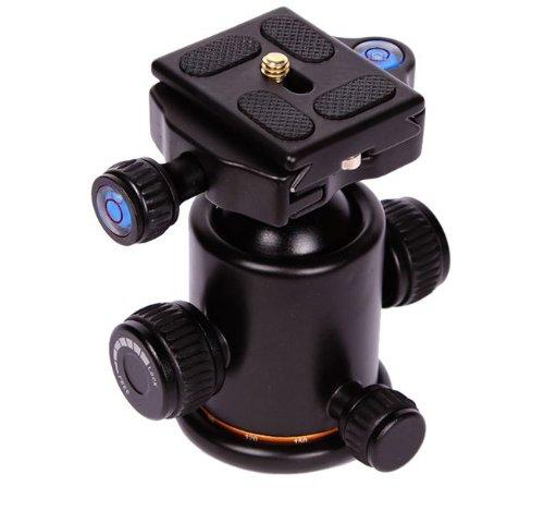 kaavie-rotule-tete-de-trepied-appareil-photo-pro-neuf-ks-0-avec-la-bulle-niveau-a-bulle-plaque-monta