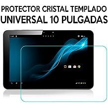 Generica - Protector Cristal Templado Universal Tablets 10 Pulgadas 25,7 x 15,5cm