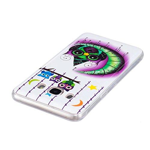 Samsung Galaxy J7 (2016 Version) Coque Gel TPU Silicone Etui Intégrale Transparent Case pour Samsung Galaxy J7 (2016 Version) Housse Protection Full Silicone Souple Case, Vandot Samsung Galaxy J7 (201 Light-6