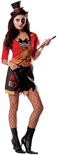 Rubie 's Offizielles Ring Mistress Circus Halloween Erwachsene Kostüm Damen (Circus Halloween)