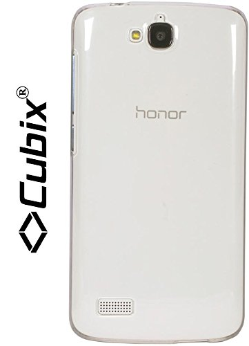 Honor Holly transparent case, [CUBIX] (A GRADE) Ultra Thin transparent hard case Back Cover for Huawei Honor Holly  available at amazon for Rs.299