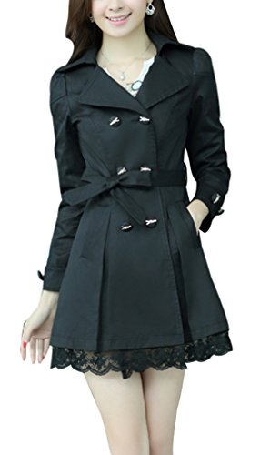 yasong-womens-girls-slim-fitted-floral-lace-belted-double-breasted-autumn-jacket-trench-coat-black-u