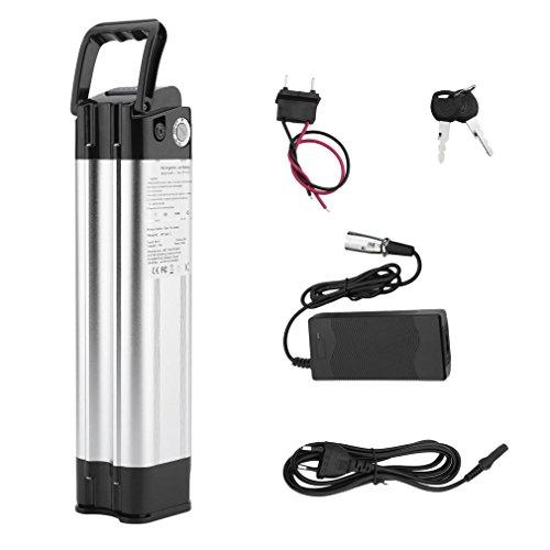 Hifeel Batterie lithium-ion 24V 15AH 360W avec chargeur pour vélo électrique Pedelec, avec kit de montage