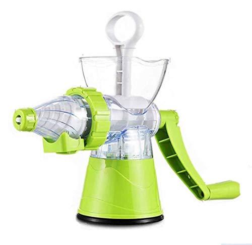 YANEN Manueller Fleischwolf, Haushaltsentsafter, Multifunktionskochmaschine, Gehackte Fleischschatzbewässerungswurstmaschine