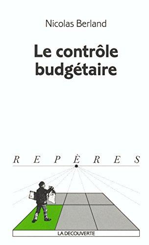 Le contrôle budgétaire