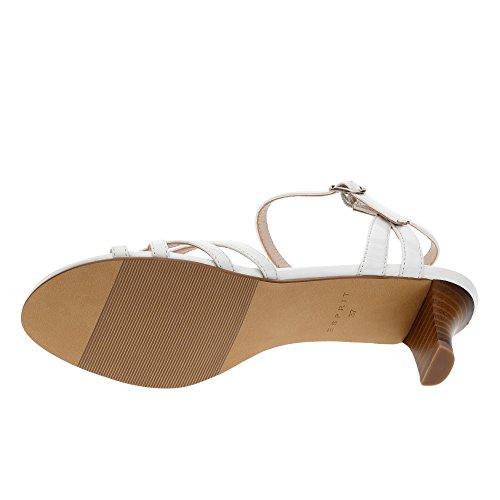 ESPRIT , Sandales pour femme Weiß