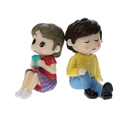 Baoblaze Micro Paisajes para maquetas de tren Playsets de figuras de juguetes...