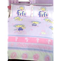 Fifi And The Flowertots - Fiddly Flowerpetals - Come And Play - Double Duvet Set
