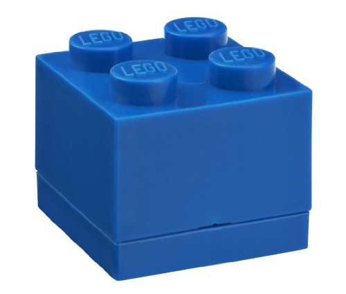 LEGO Caja de Almuerzo Mini 4Azul