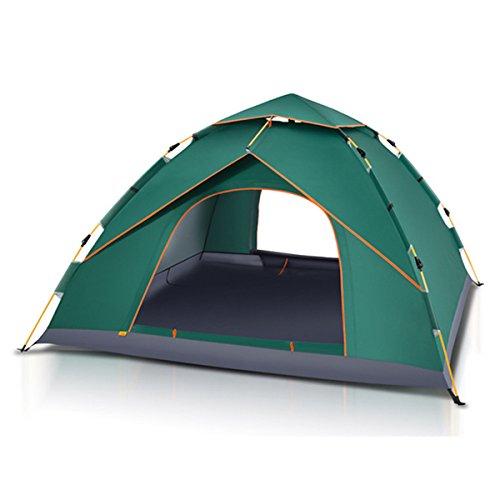 Instant-canopy Zelt (HANO 4-5 Personen Camping-Zelt im Freien Automatische Instant-Pop-Up-Windsicher Canopy Sonnenschutz)