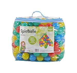 Knorrtoys 56783Pelotas Juego 6cm de diámetro-250Balls/Colorful/EN EL Bolsillo