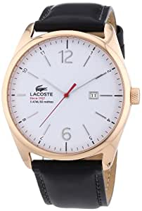 Lacoste Herren-Armbanduhr XL Analog Quarz Leder 2010681